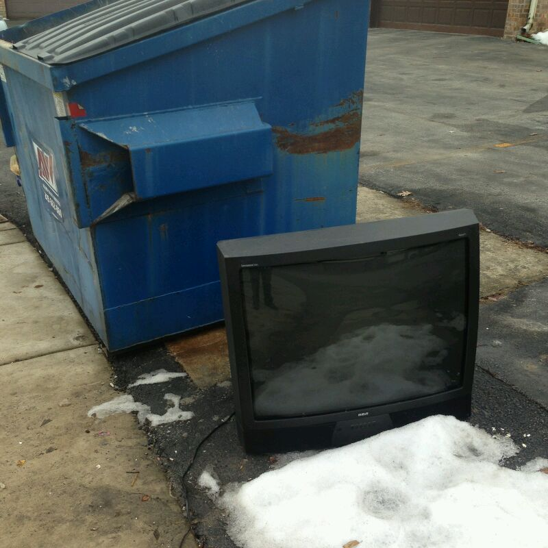 Old CRT TVs new uses